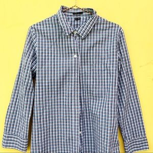 f1c40c5f5923 ... THEORY button up cotton M contemporary shirt ...